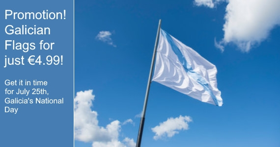 Promotion! Galician Flags for just €4.99!