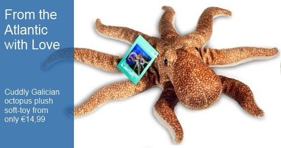 Galician Octopus Soft Toy