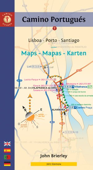 Maps Only Guide to the Camino Portugues