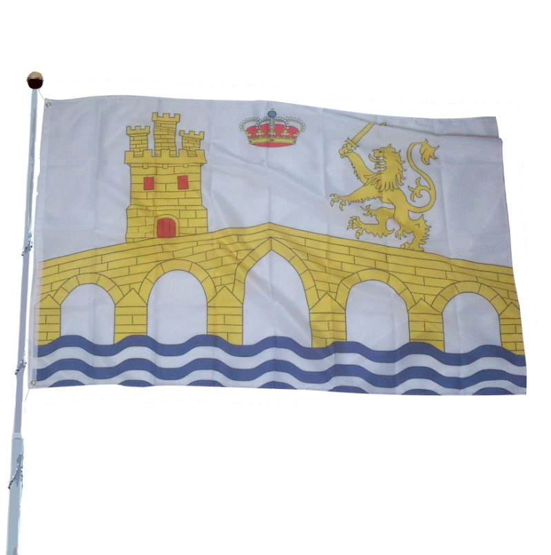 Ourense County Flag