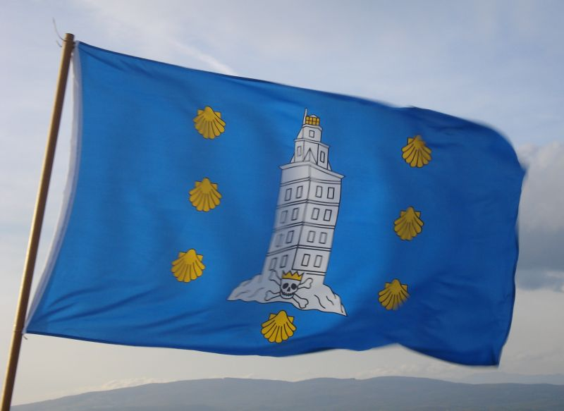County Corunna Flag