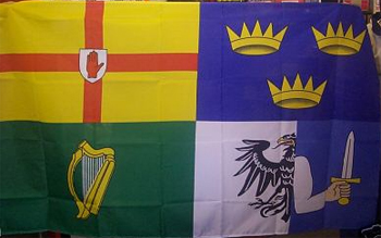 Four Kingdoms of Ireland Flag