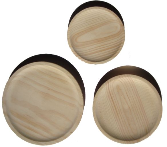 Large Wooden Plate