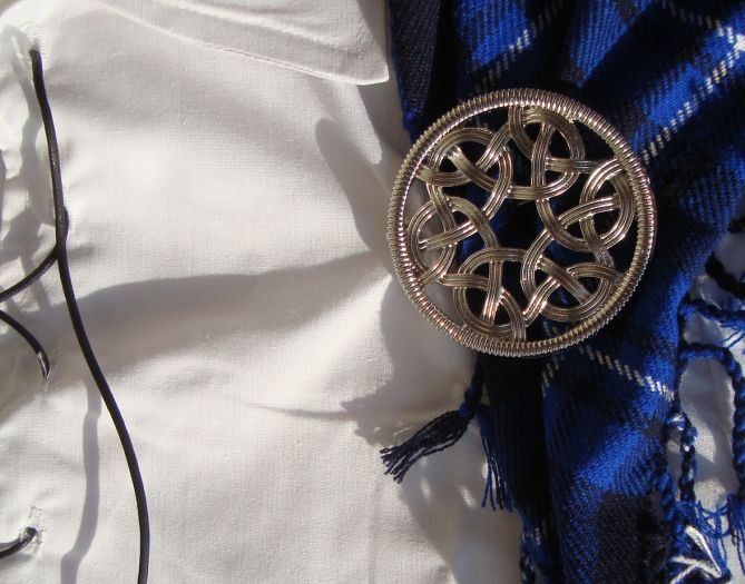 Curtis Knotwork Brooch