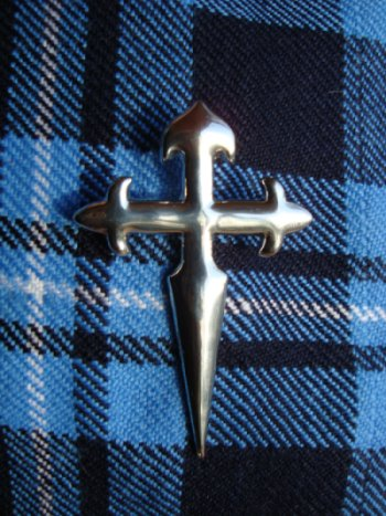 Cross of St James Pin