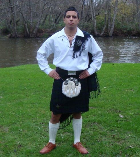 Promotion: Black Watch Kilt Set