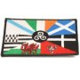 Celtic Nations Embroidered Patch