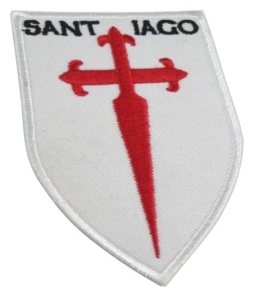 Cross of St James Shield Patch