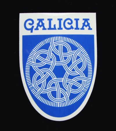 Galician Knotwork sticker