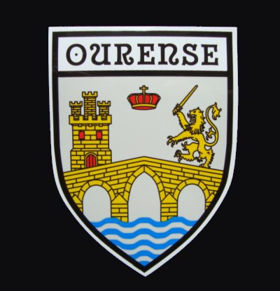 County Ourense Sticker